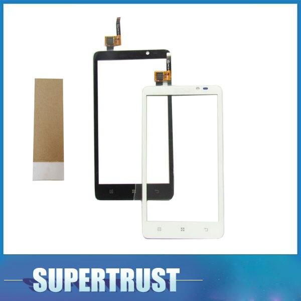 5,0 дюймов для Lenovo S890 S 890 сенсорный экран дигитайзер передняя стеклянная линза черный белый цвет с лентой