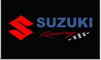 Car Flags Suzuki Banner 3ftx5ft 100% Polyester
