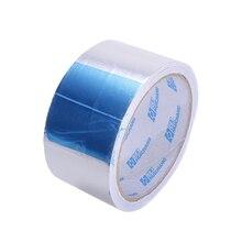 Ruban Aluminium résistant et fiable de 50mm * 30m   Rouleau idéal pour le reflet de la chaleur, étanche pour les câbles de chauffage