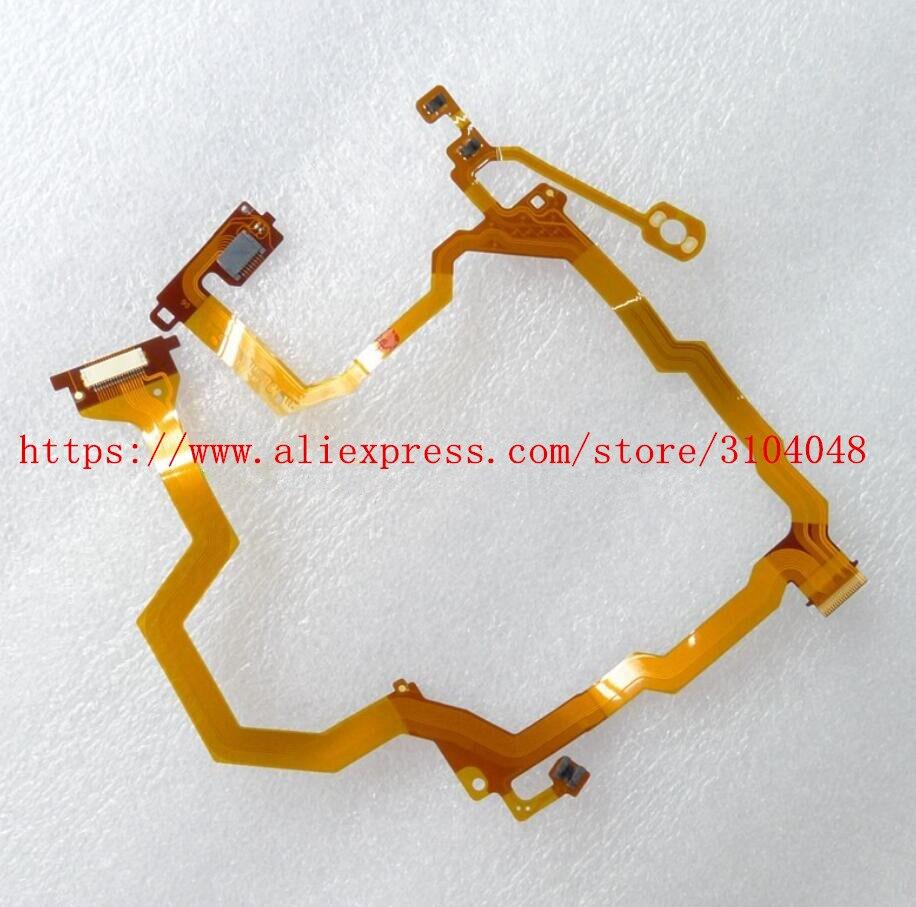 NOVA RX100M6 Lens Flex cable FPC Para Sony DSC-RX100M6 RX100VI DSC-RX100 VI Repair Camera Parte