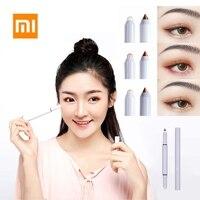 New Xiaomi Youpin Double-headed Eyeshadow Pencil Lying Silkworm Pen Durable Waterproof Fashion Eye Shadow Pen for Eye Makeup