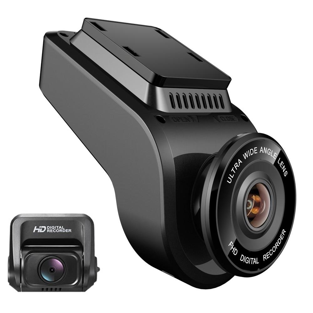 WiFi Car DVRs Recorder Dash Cam Dual Lens Vehicle Rear Camera Built in GPS Camcorder 4K 2160P Night Vision Dashcam Novatek 96663