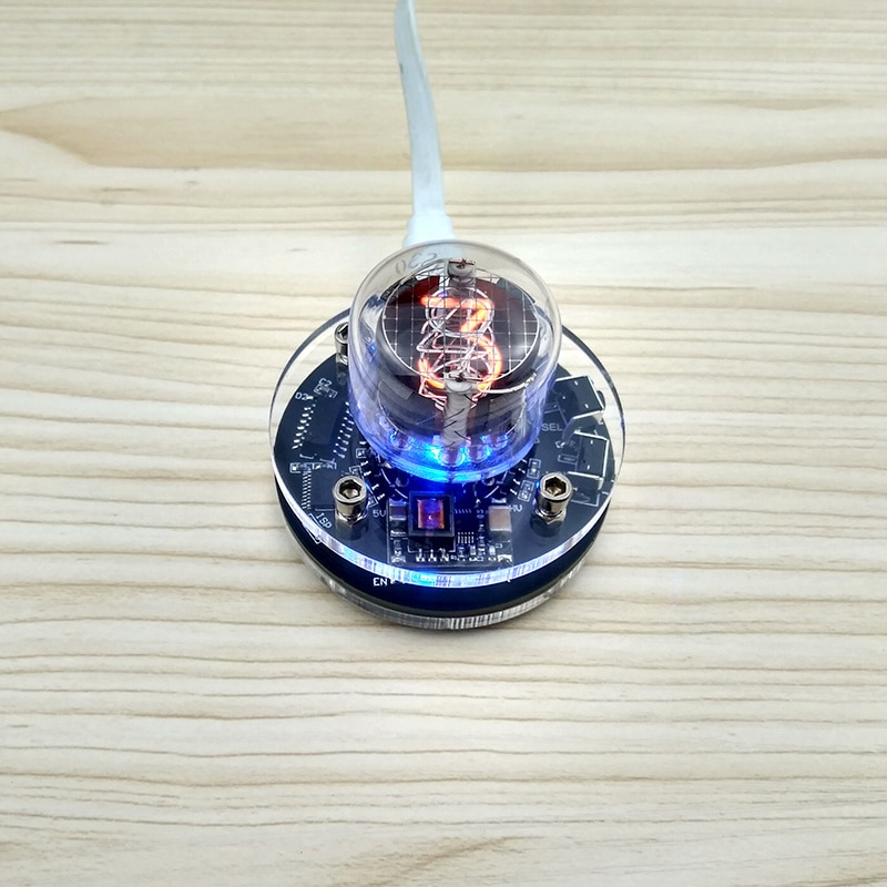 1-poco integrado tubo incandescente reloj f/QS30-1 SZ-8 SZ3-1 SZ1-1 ZM1020 reloj de tubo LED RGB DS3231 nixie reloj Boost módulo