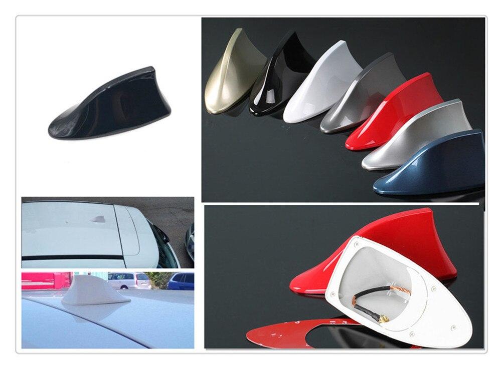 Forma de coche de aleta de tiburón trasero para techo línea modificación de la señal de radio para Tesla Suzuki Isuzu Daihatsu Aston Martin Volvo Mazda