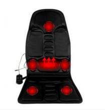 Car Home Office Full-Body Massage Cushion. Back Neck Massage  Massage Relaxation Car  . Heat Vibrate Mattress