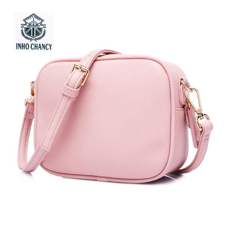 The new simple Famous Brand Design Small Square Flap Bag Mini Women Messenger Crossbody bags Sling Shoulder Leather Handbags