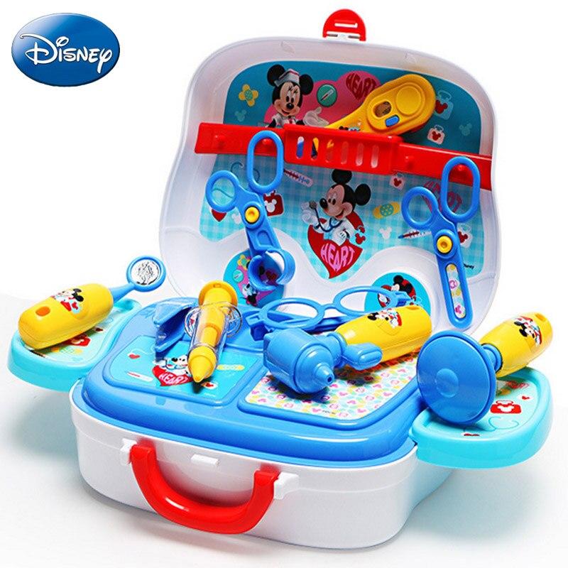 Disney детская для девочек и мальчиков сумка саквояж комплект Микки Минни Маус