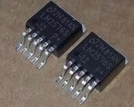 LM2576SX-3.3 LM2576S-3.3 5,0 ADJ LM2576S LM2576 3,3 V a-263-5 20 unids/lote envío gratis componentes electrónicos kit de LM2576S-ADJ