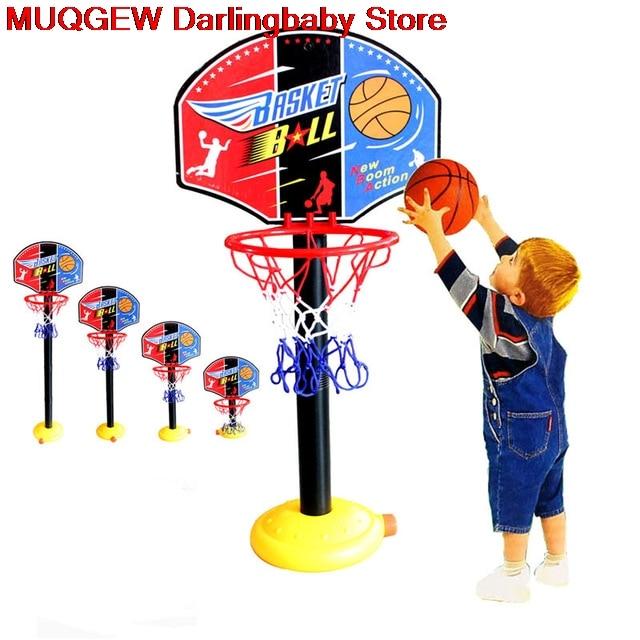 Basquete de volta placa carrinho kit hoop conjunto jogo de basquete presente para crianças criança ao ar livre divertido brinquedo esportes jogo brinquedos interessantes presente
