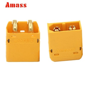10pair/lot Original Amass XT60PW Connector Male and Female Bullet Connectors Plugs For RC LiPo Battery 20% off