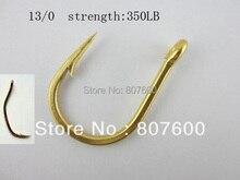 Salt Water Sea Fishing Hook Fishing Hook For Jigging Jig Hook Size 13/0 Strength 350LB 2 Pcs/Lot