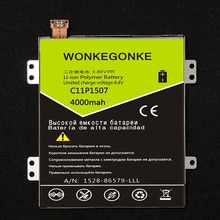 WONKEGONKE C11P1507 pour ASUS zenfone zoom ZX551ML Z00XS batterie