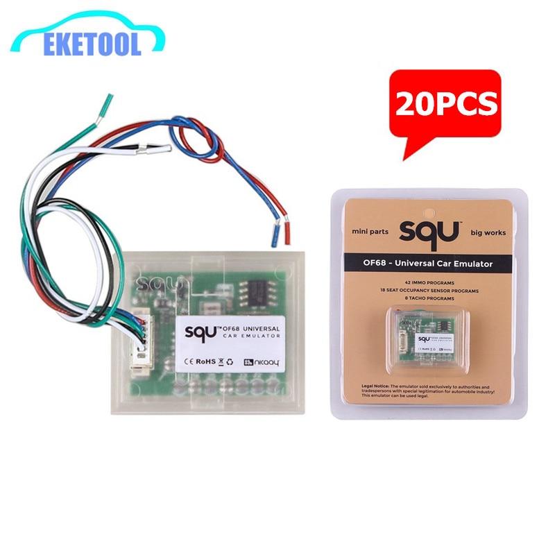 20 шт./лот SQU OF68 автомобильный эмулятор Универсальный мини-запчасти большой рабочий сброс сигнала IMMO/датчик заполнения сидений/Тахометр прог...