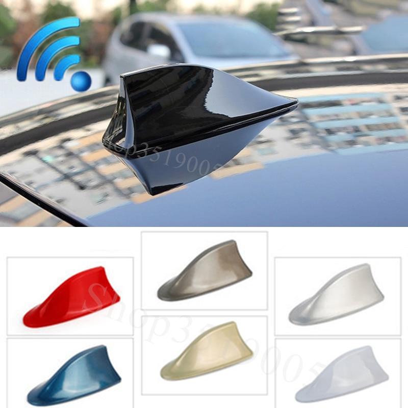 Antenas de señal de coche alerón con forma de aleta de tiburón accesorios para Chevrolet cruze aveo captiva lacetti Silverado Impala Onix