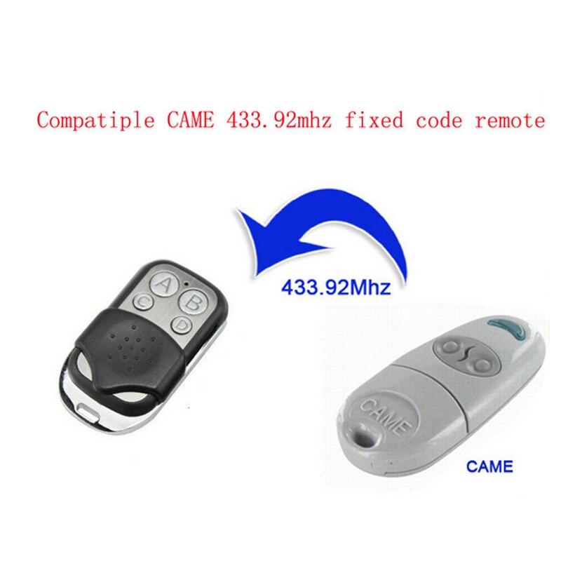 433.92 mhz cópia de metal veio controle remoto para gadgets carro casa garagem alta qualidade m8617