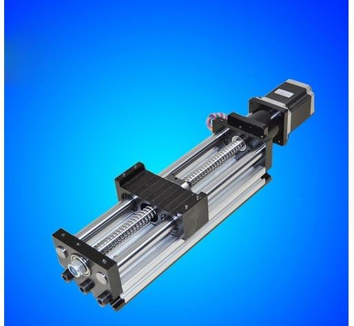 1610 CNC دليل وحدة 80*50 انزلاق الجدول 400 مللي متر مفيدة السكتة الدماغية 1610 Ballscrew + نواعم 23 السائر