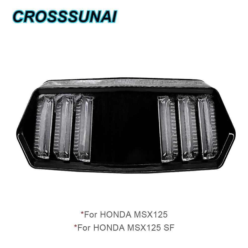 Luces traseras LED para Honda MSX125 MSX 125 SF, luces traseras para motos, luces LED traseras, luces traseras para motocicletas