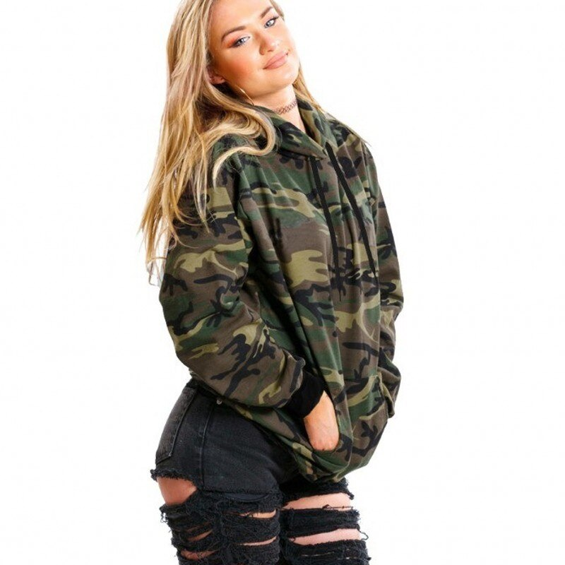New  Plus Size  Jaket Women Camouflage  Ladies Coat Spring Autumn  Women Jacket 8WT053