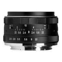Meike Camera Lens MK 50mm F2 0 Large Aperture Manual Focus for Canon Sony E-mount M4 3 Nikon Fujifilm X-T20 Camera Lens APS-C