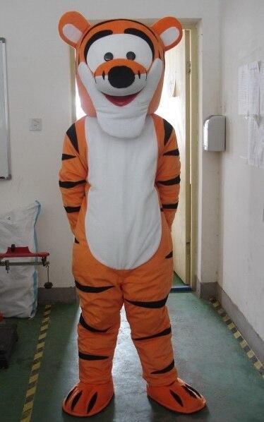 Material de EVA de casco adorable Tigre trajes de la mascota de dibujos animados ropa de dibujos animados Unisex ropa Cosplay 406