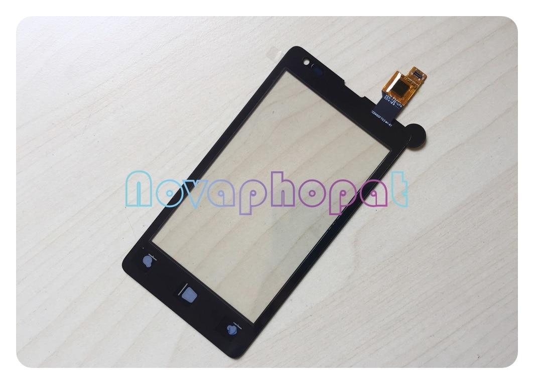 Pantalla táctil negra Novaphopat para Nokia Microsoft Lumia 435 532 N435 N532...