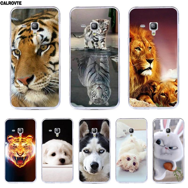 Para Samsung Galaxy tendencia Plus gt S7580/S Duos 2 S7582/S Duos S7562/tendencia Duos S7560 cubierta de silicona suave fundas traseras pintado