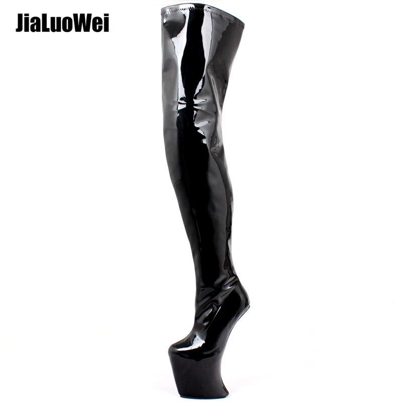 AliExpress - Women Platform Boots Sexy Heelless Thigh High Boots High Heel Zip Over-the-Knee Boots for Females Shoes