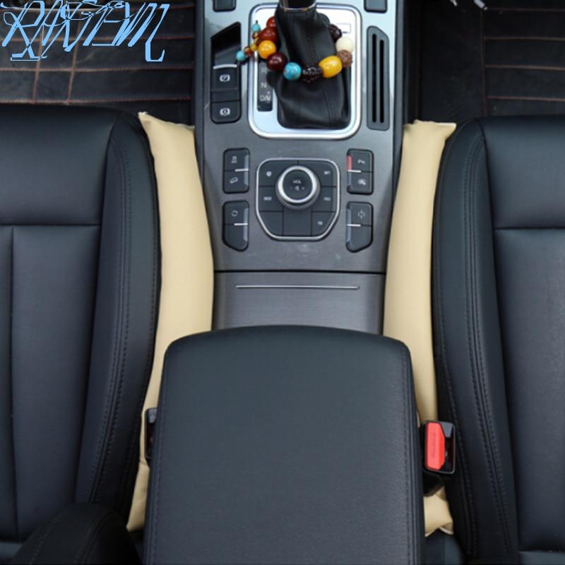 Universal 2 uds asiento de cuero PU hueco relleno macho para DAIHATSU Sigra Ayla Sirion Xenia para Jaguar XF XFL XE XJL XJ F-PACE