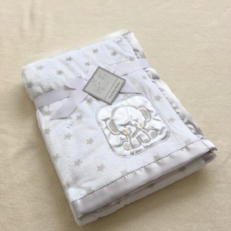 Manta para bebé recién nacido, Manta térmica suave de lana, ropa de cama de invierno para bebé, Manta receptora, conjunto de saco de dormir para bebés