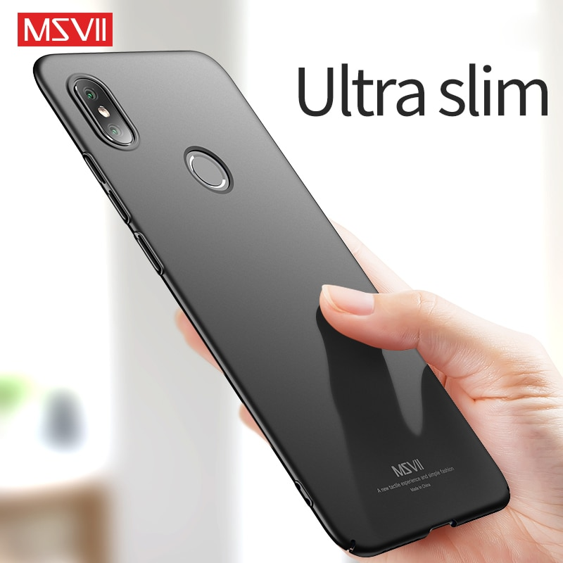 Fundas de teléfono MSVII para Xiaomi mi 8 carcasa para Xiaomi mi 8 lite mate Coque para mi 8/mi 8 Lite ultrafino antihuellas