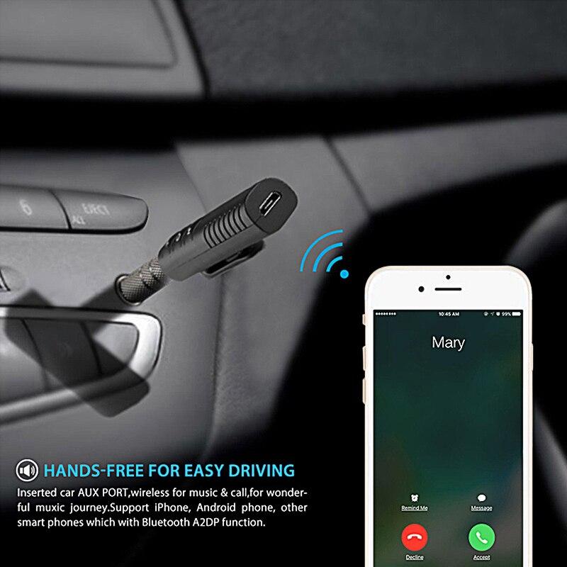 3,5mm coche Bluetooth Kit receptor de Audio pegatina para Lada granta vesta priora kalina niva largus vaz samara, samara, 2106, 2108, 2109, 2110