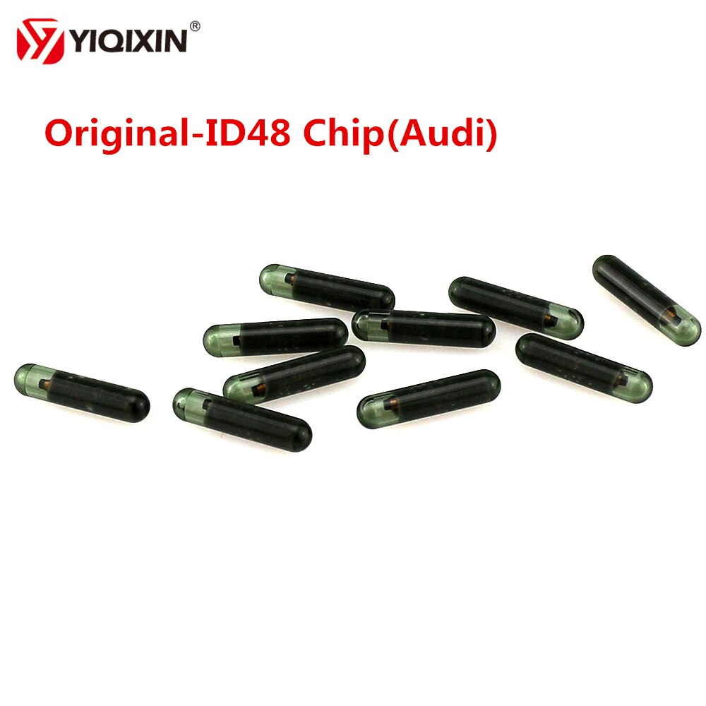 YIQIXIN 10 unids/lote para Audi ID48 puede Chip A2 TP25 ID48 Chip transmisor remoto llave de coche Chip para Audi A3 A4 A5 A6 A6L A8 S5 S6 Q5