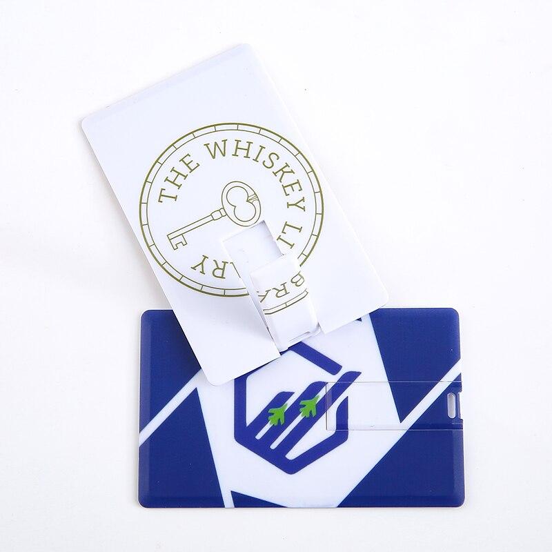2018 Logotipo de moda personalizado 4GB 8GB USB Stick tarjeta de visita USB Flash Drive precio de fábrica unidad flash logotipo personalizado e imagen