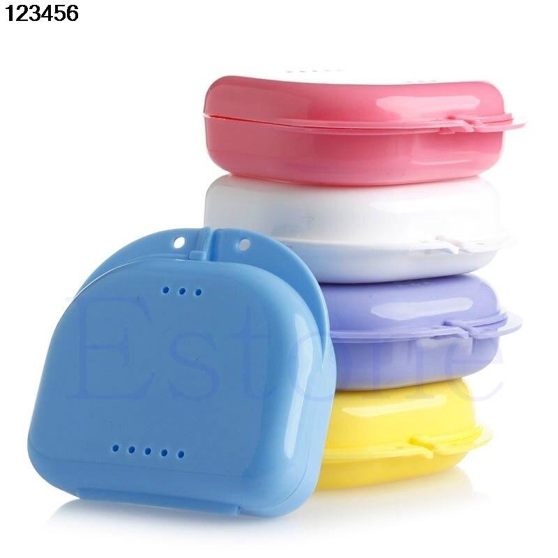 Producto en oferta, retenedor Dental, almacenamiento para dentadura, caja, protector bucal, contenedor