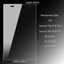 Gehard Glas Voor Lenovo Tab3 8 Plus P8 Tb-8703 Screen Protector Tablet Pc Ultra Dunne Glas Voor Lenovo TB-8703F Beschermende Film