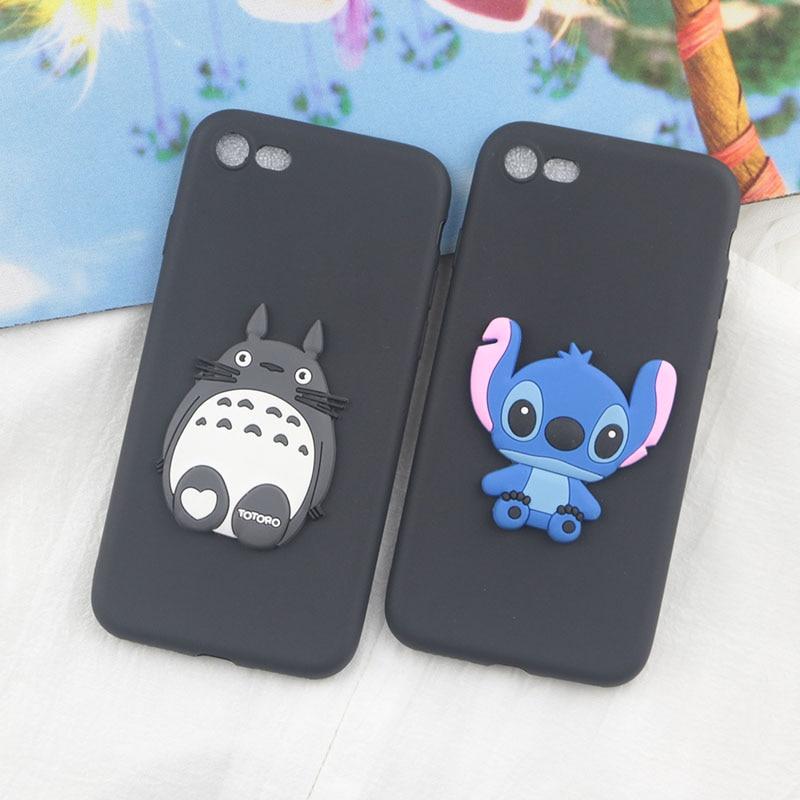 Cute Cartoon Stitch Case for Google Pixel 4A 4 3 Lite 3A 2 XL Cases Dinosaur Giraffe Totoro Pig Bear Soft Silicon Phone Cover