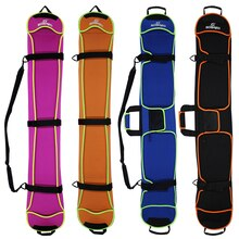 Sac de Ski Snowboard 135-155cm résistant aux rayures Monoboard plaque demi-couverture étui de protection boulette peau Ski planche sac 4 couleurs