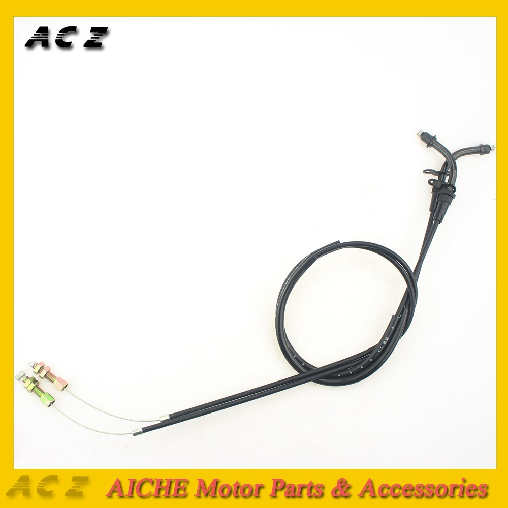 ACZ Motorcycle Replacement Emergency Throttle Cable Line Wire For Suzuki GSXR600 GSXR750 GSXR1000 2005-2009 K5 K6 K7 K8 K9 Racer