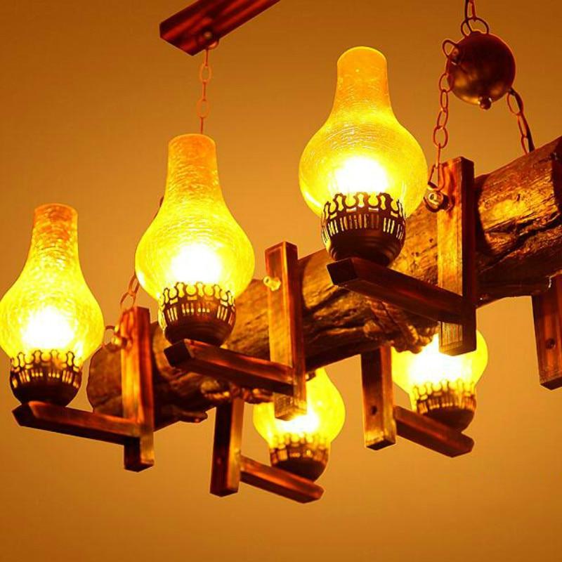 American Country pendant lamps Cafe Coffee Shop Retro Bar studio lamp residential lighting Corridor pendant light wl3201154