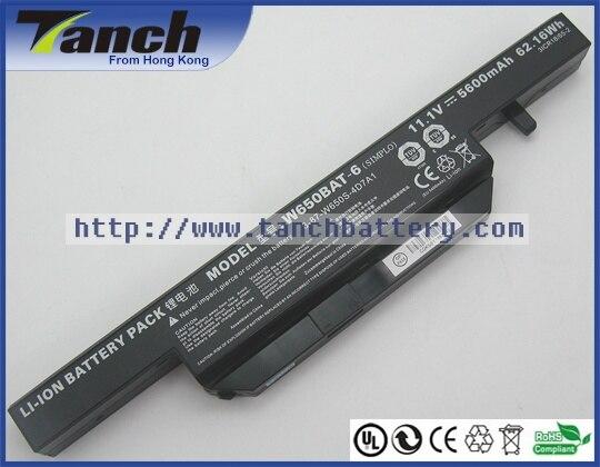 6-87-W650S-4D4A2 W650BAT-6 Аккумулятор для ноутбука CLEVO W650SC W650SF W650RZ W650SR W670SZQ W670SJ