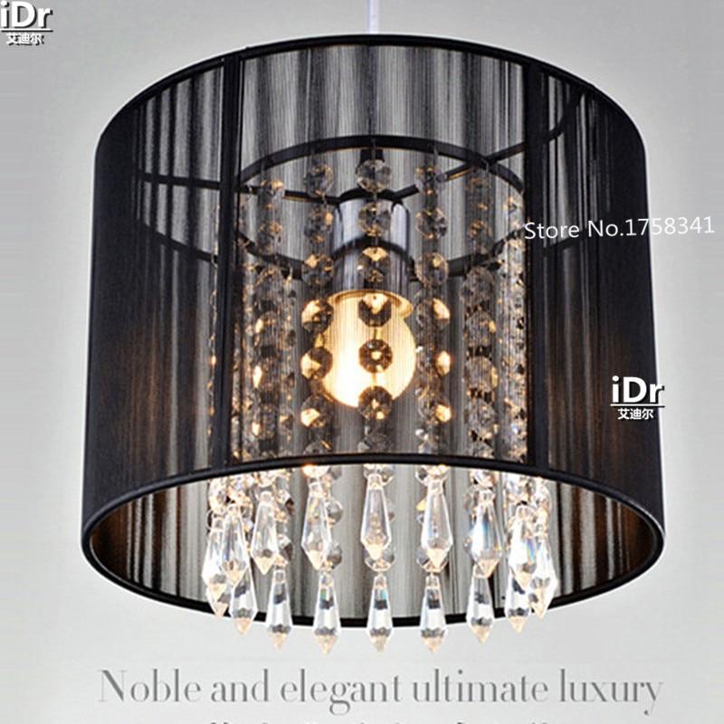 Artesanal lustres de cristal k9 moderno minimalista moda pendurado lâmpada sala estar iluminação restaurante luz
