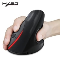 hxsj a889 2400dpi wireless ergonomic design optical vertical mouse with 4 buttons 1 wheel gaming mouse