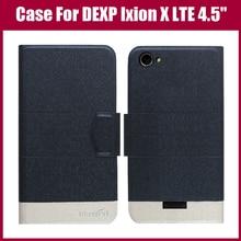 "DEXP Ixion X LTE 4.5"" Case New Arrival 5 Colors Fashion Flip Ultra-thin Leather Protective Cover For DEXP Ixion X LTE 4.5"" Case"