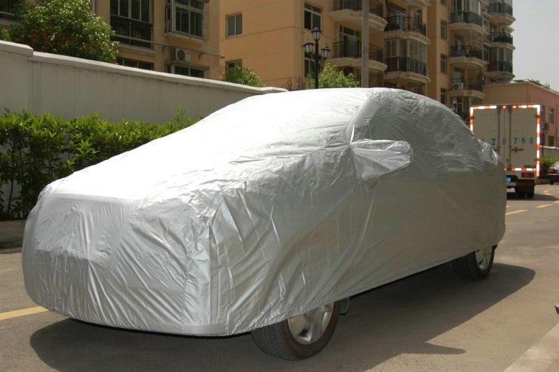 Автомобильные Чехлы Размер S/M/L/XL SUV L/XL Водонепроницаемый Полный Чехол для автомобиля Защита от солнца УФ снега пыли дождя серый для Honda Odyssey