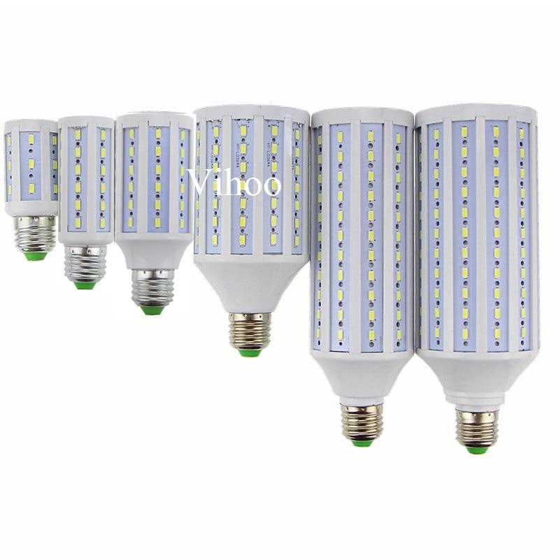 Lampada New E27 B22 E40 7W 12W 15W 25W 30W 40W 50W 60W 80W 100W 220V 110V LED corn bulb light droplight lighting downlight lamp