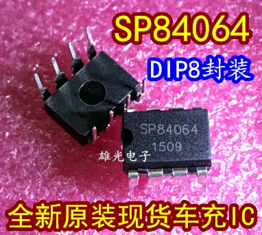 Freeshipping      SP84064 30V 0.8A DIP8 SP84064