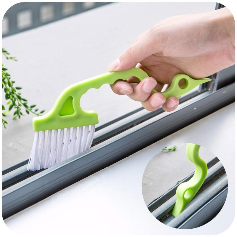 Ручная щётка-Тренч с прорезями, 1 шт., щетка для чистки дверей, кухонная щетка для кондиционера, воздухоотвод, щетка для чистки труб
