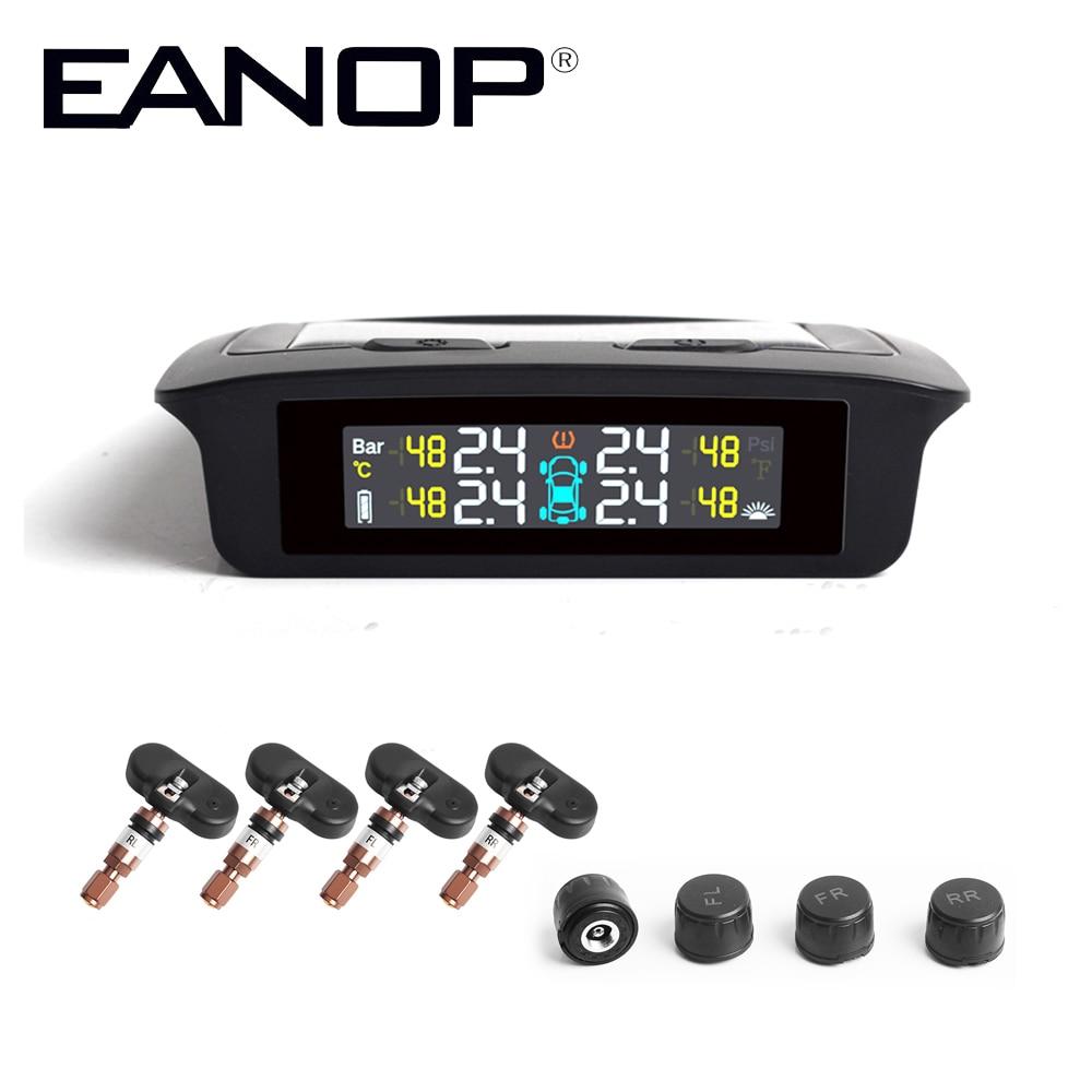 EANOP S700 voiture TPMS système de surveillance de la pression des pneus pression des pneus capteur interne barre Psi alarme automatique pour camion de voitures universelles