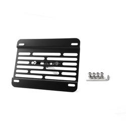 Areyourshop carro novo amortecedor gancho de reboque suporte de montagem da placa de licença para mazda3 para mazda6 cx5 mx5 carro auto aaccessories