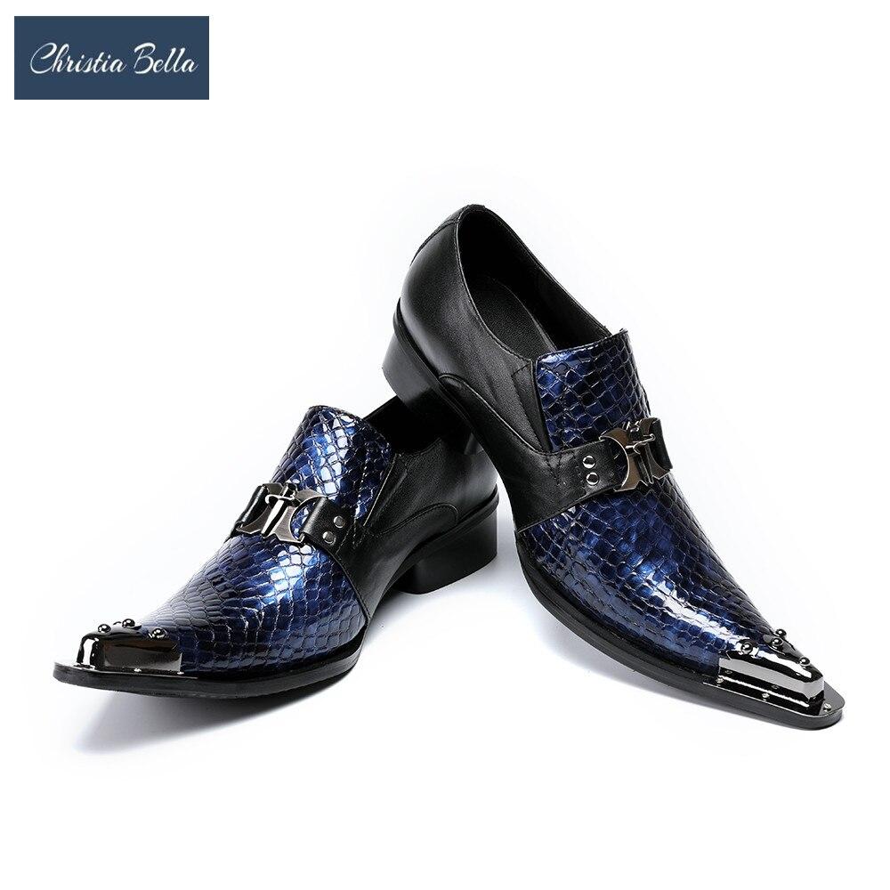 Christia bella marca moda celebrar vestido sapatos para homens estilo de negócios italiano oxfords sapatos masculinos couro genuíno sapatos de festa